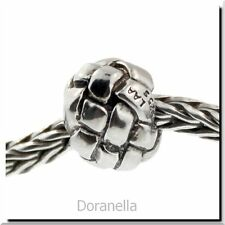 Authentic Trollbeads Sterling Silver 11230 Plait :0 RETIRED