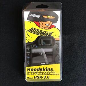 """Hoodman Hoodskins Model HSK-3.0 Fits 3.0"""" Pro SLR Digital Cameras"""