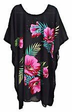 Sheer Kaftan Beach Wear Dress Party Boho Festival Size 14 16 18 20 22 24 26 28