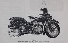 Harley Davidson.42WLA.Operation and maintenance manual.TM10-1175.