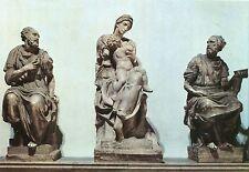 Alte Kunstpostkarte - Firenze - Cappelle Medicee - Madonna col Bambino