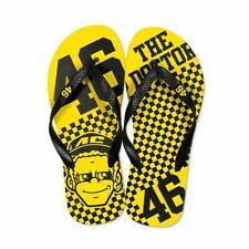 Valentino Rossi vr46 46 der Arzt Flipflops dottorone Sandalen-gelb/schwarz