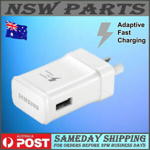 Samsung Fast AC Wall Charger Adapter for Galaxy S6/S7/S8/S9/S10/S20 FE/21 Ultra