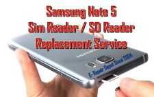 Samsung Galaxy Note 5 Sim Reader Replacement Service - Repair Center Since 2004