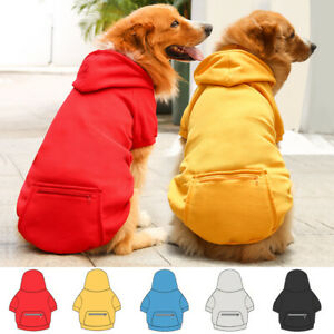 2 Leg Pet Dog Clothes Hoodie Winter Warm Sweatshirt Cat Puppy Coat Jacket 5XL XL