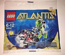 Lego Atlantis Mini Set 30042 Sub and Diver Minifigure Polybag Sealed
