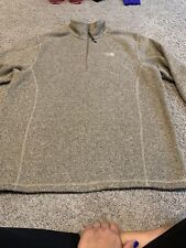 The North Face Mens Large Tan/brown Fleece