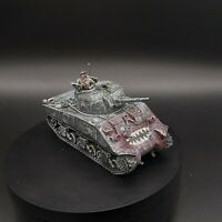 Well Painted 28mm Bolt Action US  sherman tank (winter) warlord games Korean war