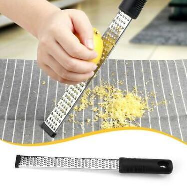 Stainless Lemon Cheese Vegetable Zester Grater Peeler Slicer Kitchen Tool Choper