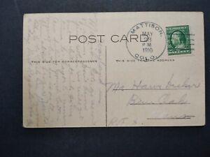 Colorado: Mattison (#2) 1910 Greeting Postcard, DPO Elbert Co