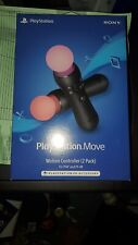 PlayStation Move Motion Controller 2 Pack For PS4 Brand New SHIPS NOW IN HAND!