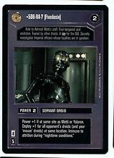 Star Wars 5D6-RA-7 Fivedesix Mint Decipher CCG Premiere Black Border Card W1