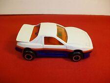 White Majorette Pontiac Fiero #206 made in France 1/55 scale Mint Model Car