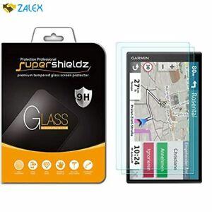 (2 Pack) Supershieldz for Garmin DriveSmart 65 and DriveSmart 61 Tempered Glass