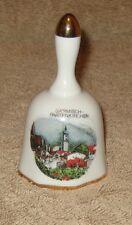 Garmisch-Partenkirchen Collectible Porcelain Hand Bell