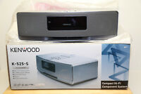 Kenwood K-525-S Kompakt-Audiosystem mit integriertem iPod/iPhone-Dock NEU/OVP