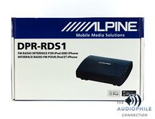 ALPINE DPR-RDS1 FM RADIO INTERFACE FOR IPOD AND IPHONE ~ BRAND NEW!