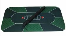 More details for 70'' x 35'' professional poker mat, 8 player portable rubber texas hold'em poker