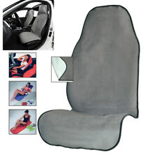 Gray Comfort Car Bucket Seat Cover Cushion Yoga Sweat Towel Mat for Fitness Gym
