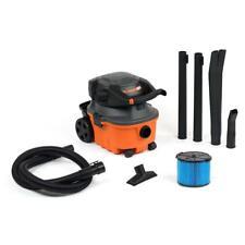 Ridgid Wet Dry Vac Vacuum 4 Gallon 6.0 Peak HP Handheld Detachable Blower Hose