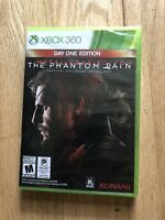 Xbox 360 Metal Gear Solid V The Phantom Pain tactical Espionage Operations NEW