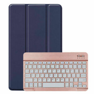 US For LG G Pad 5 10.1 inch FHD LM-T600L 2019 Tablet Keyboard Leather Case Cover