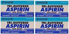 McKesson Tri-buffered Aspirin Tablets 325 MG 100 per Bottle - MON78312700