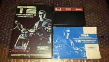 Sega Master System Game - Terminator 2 Judgement Day CIB RARE