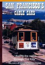 San Francisco's Cable Cars DVD NEW Valhalla Powell Hyde Mason California Line SF