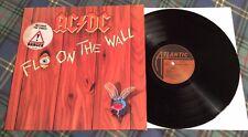 AC/DC, Fly on the Wall,  Vinyl LP, 1985 German pressing, Lyric Inner, EX+/EX+