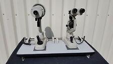 TOPCON OM-3 Ophthalmometer + SL-2E Slit Lamp