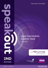 Speakout Upper Intermediate 2nd Edition Students' Book with DVD-ROM Y MYLAB