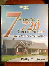 """""""SS"""" (6) x CD SET by PHILLIP X. TIRONE """"7 STEPS TO A 720 CREDIT SCORE"""""""
