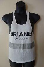 BLTEE Brian Lichtenberg Brianel Eau De parfun Racerback Tank Top Size XS NWOT