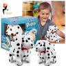 Animigos Flipping Puppy Dalmatian Dog Walking Jumping Barking Birthday Xmas Gift