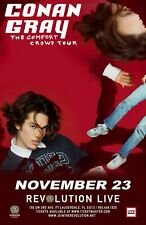 """CONAN GRAY """"THE COMFORT CROWD TOUR"""" 2019 FT. LAUDERDALE CONCERT POSTER-Dream Pop"""