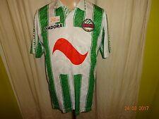 """Rapid Wien Original Diadora Heim Trikot 1995/96 """"Bank Austria"""" + Nr.9 Gr.M"""