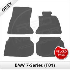 BMW 7-Series F01 2008-2015 Velcro Pads Tailored Carpet Car Floor Mats GREY