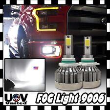 9006 Error Free 60W 6000 LM CREE High Power Xenon COB LED Driving Fog Light Bulb