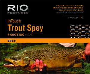RIO InTouch Trout Spey Shooting Head 22'/6.7m Floating: #1 190gr; #2 230gr