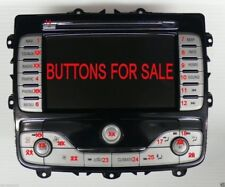BUTTON COVER FOR FORD MONDEO FOCUS S-MAX GALAXY TOUCH SCREEN SAT/NAV NAVIGATION