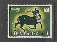 SAN MARINO POSTAL ISSUE - 1970 - MINT STAMP - ZODIAC - ARIES THE RAM