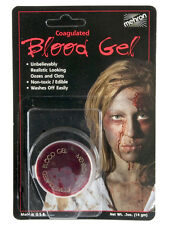 Mehron Coagulated Gel Blood Vampire Dracula Special Effects Horror Fake Blood