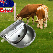 Stainless Water Trough Bowl Automatic Drinking For Dog Horse Chicken Auto Fill N