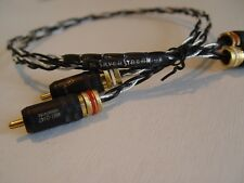 Kimber Kable Silver Streak SE/WBT 0147 Locking RCA Stereophile Recommended!!!!!!