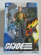"GI Joe Classified Duke action figure 6"" series NIB"