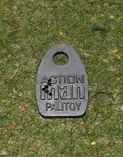 ACTION MAN 40th REPLACEMENT DOGTAGS DOG TAGS PLASTIC GREY FOR VINTAGE *NO CHAIN