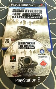 BROTHERS IN ARMS EARNED IN BLOOD FOR SONY PLAYSTATION 2 BY GEARBOX VGC