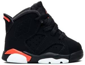 "Toddlers Nike Air Jordan Retro 6 ""Infrared"" 2019 Athletic Fashion 384667 060"