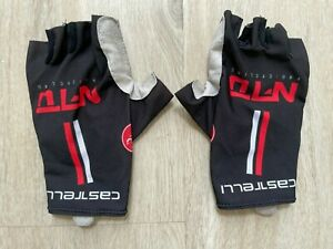 CASTELLI TEAM NFTO AERO CYCLING GLOVES_RARE!_SIZE L_EXCELLENT COND!!